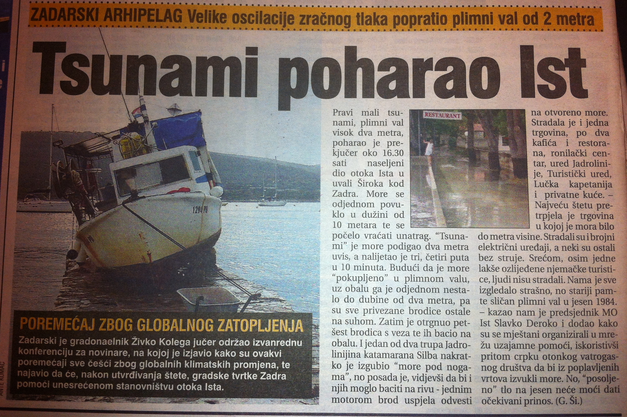 Meteorological tsunamis in the Adriatic Sea